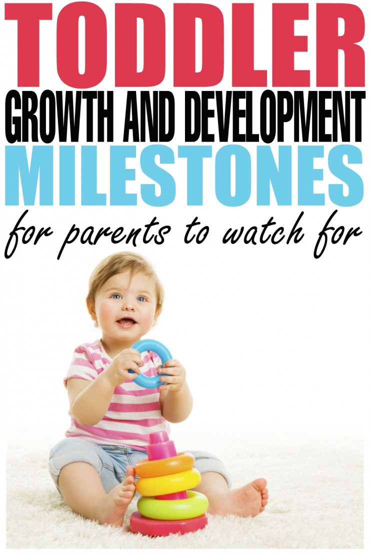 Parents often wonder if their Toddler is hitting Growth and Development Milestones normally, so here are a few Growth & Development Milestones to watch for.