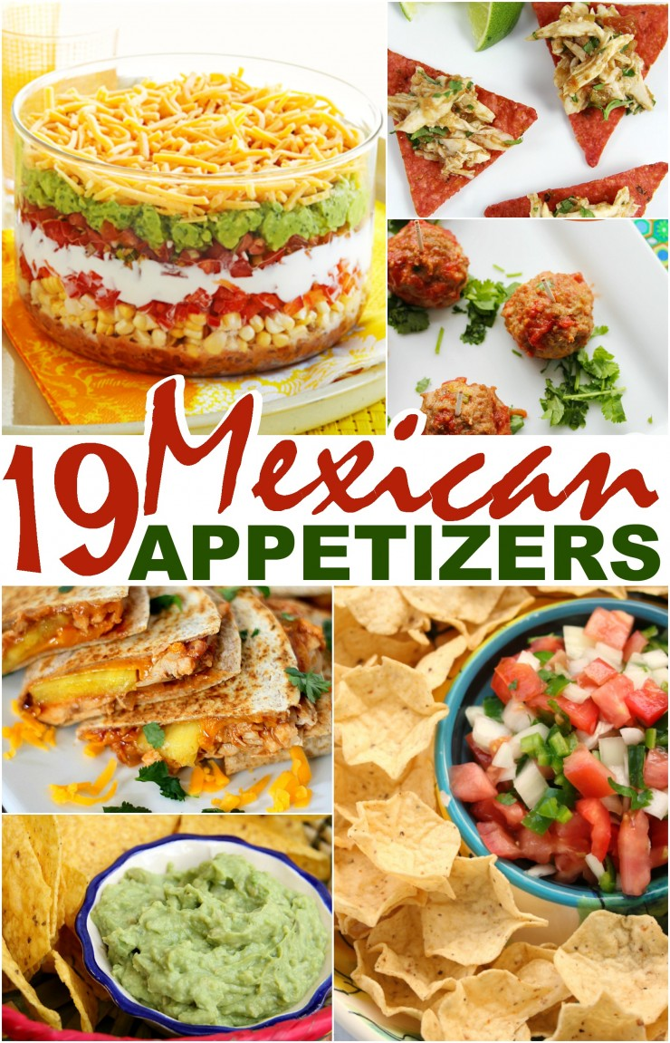 mexican dinner ideas 19 mexican appetizers frugal eh 12517