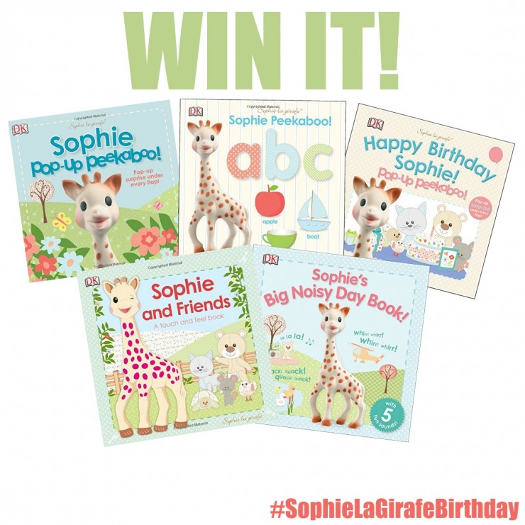 It's a #sophielagirafebirthday Celebration Giveaway!