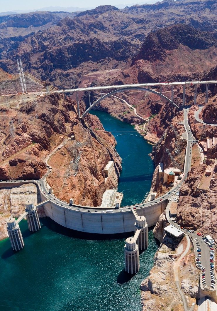 Hoover-Dam-Denver - Nevada is filled with things to do and see from the iconic Hoover Dam to the famous Las Vegas Strip. Here are 7 of the best attractions in Nevada.