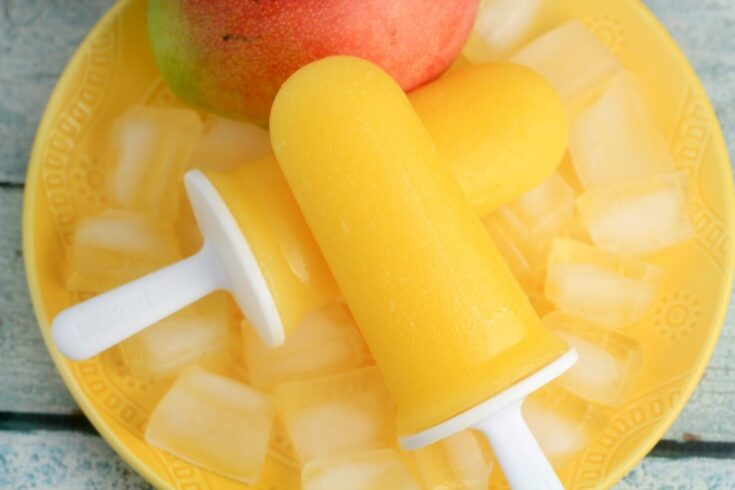 Mango & Pineapple Ice Pops