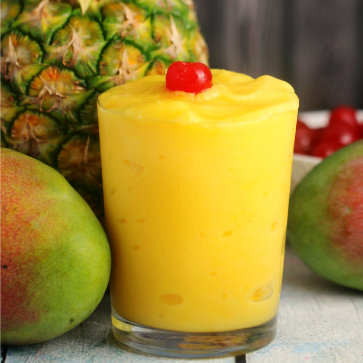 Mango & Pineapple Tropical Slushies