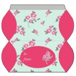 Shabby Chic Polka Dot Roses Pillowbox