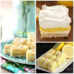 25 Luscious Lemon Cookies & Bars