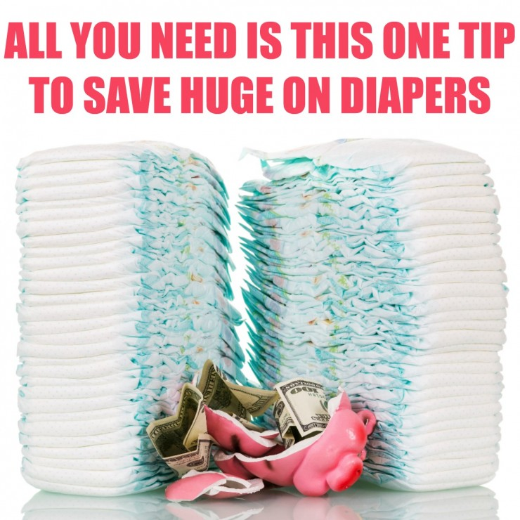 All you need is this one tip to save huge on Diapers
