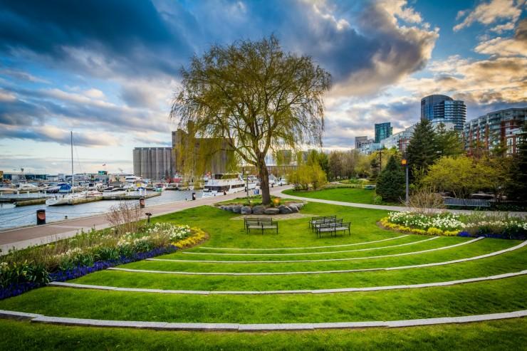 harbourfront toronto music garden