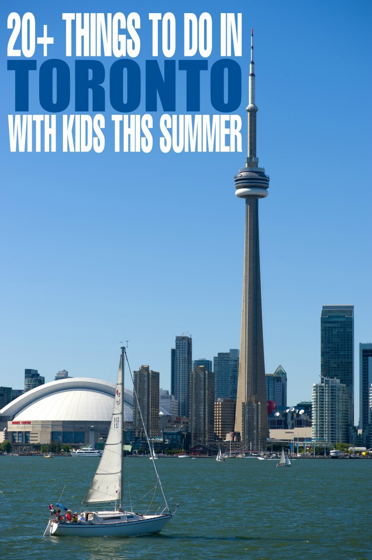 20+ Things to do in Toronto with Kids in the Summer. Great destinations for family travel whether you live in the 6 or visiting as a tourist.