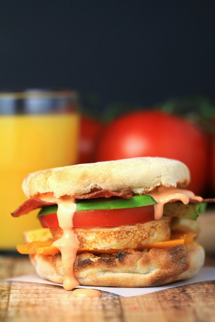 This California Breakfast Sandwich is full of flavour and perfect for busy mornings on the go.