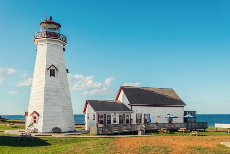 East Point Lighthouse (Point East Coastal Drive, Prince Edward Island, Canada)
