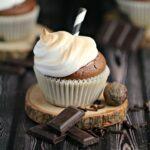 Saint Lucian Hot Chocolate Cupcakes