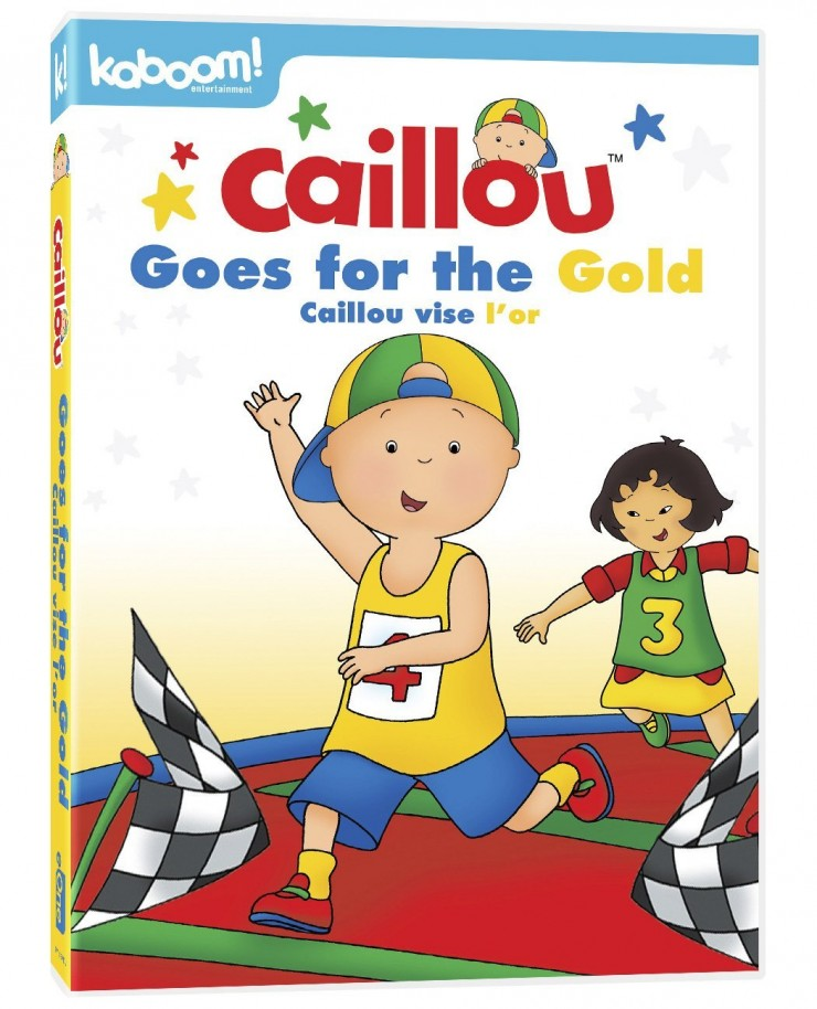 Caillou Goes for the Gold DVD