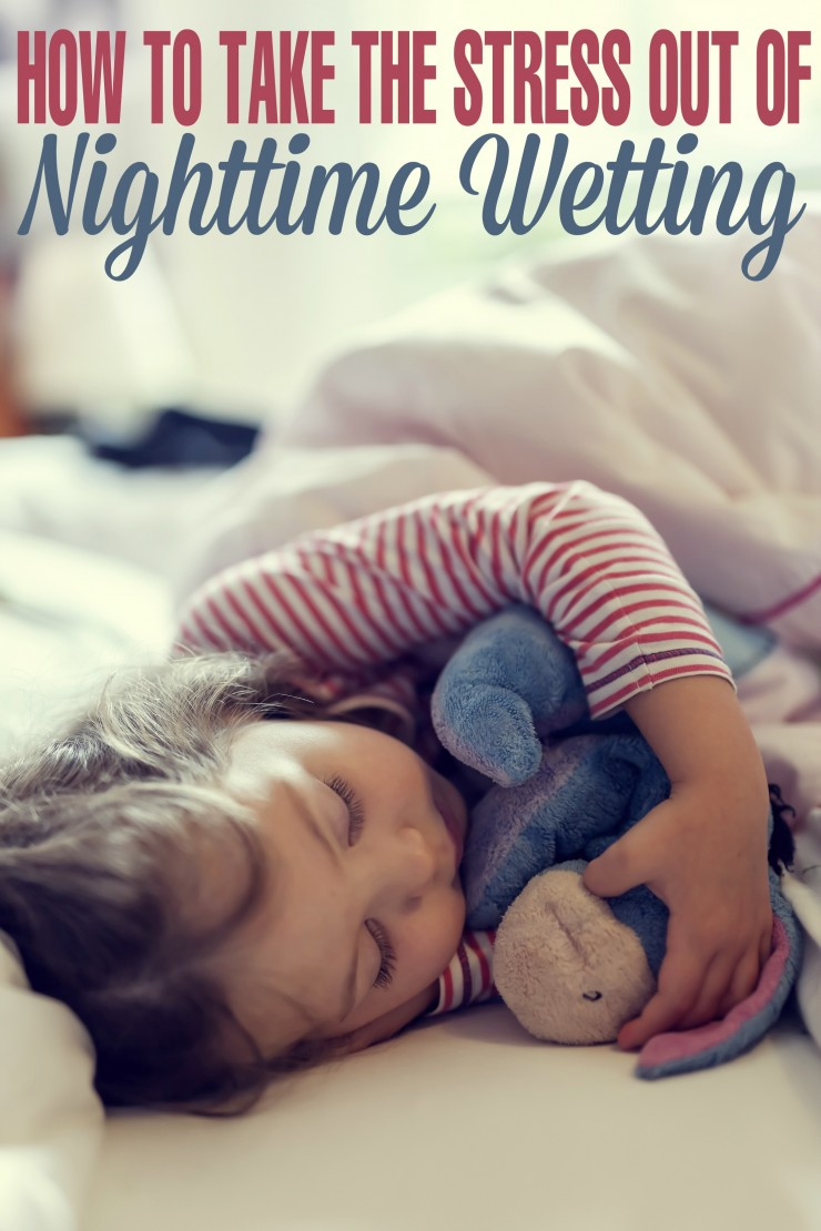 Nighttime wetting can be embarassing for a child and overwhelming for a parent. Use these tips to help take the stress out of nighttime wetting!