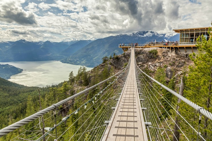 Sea to Sky Gondola in Squamish, British Columbia
