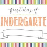 Free First Day of School Printable Sign (+ Last Day of School Printable Sign)