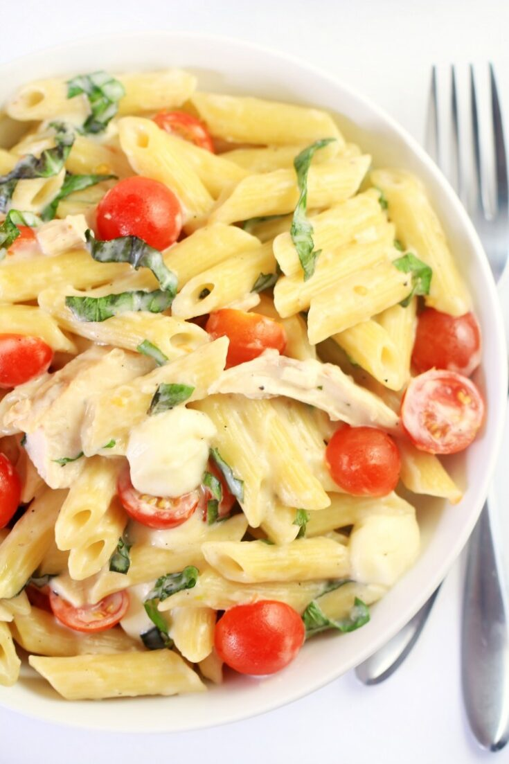 Margherita Penne with Chicken