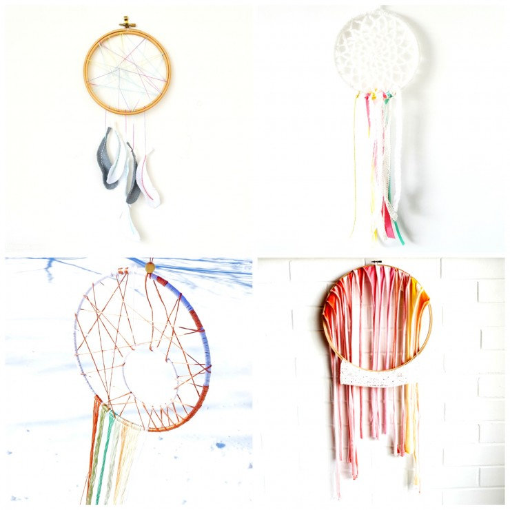 20 Whimsical DIY Dreamcatchers