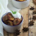 Spiced Roasted Plums