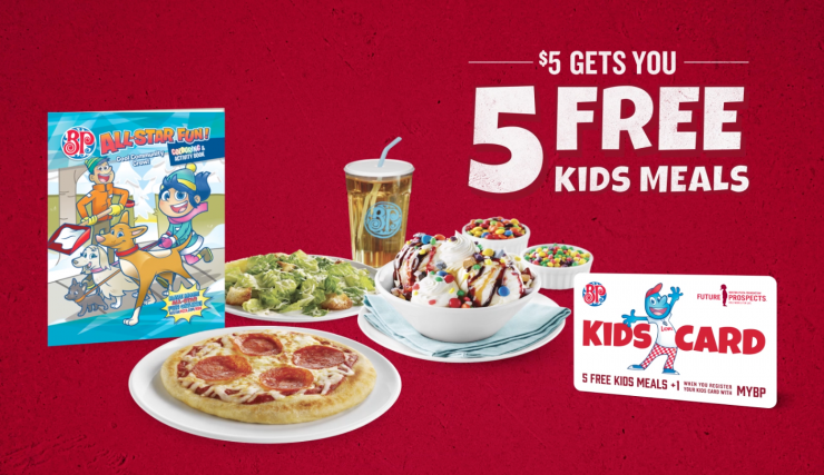 Boston Pizza Kids Cards Are Back