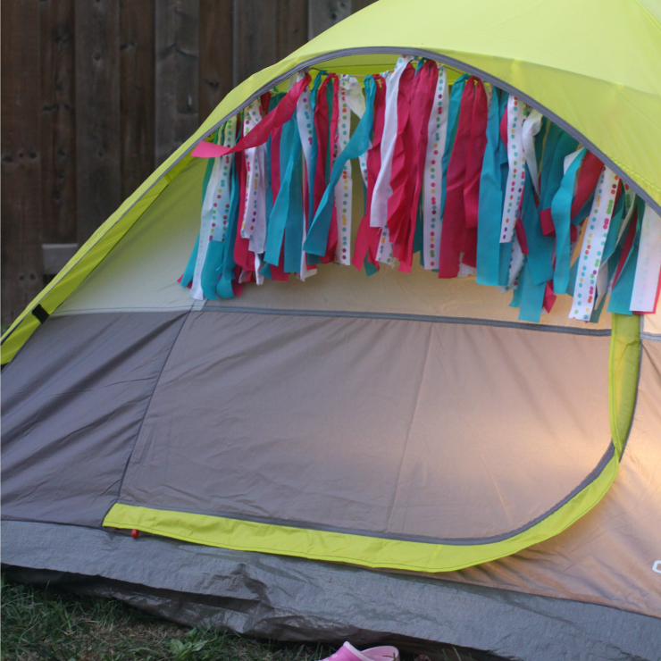 How to Plan a Fun Family Backyard Camping Adventure