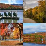 Fall Leaf Destinations in the Boston-Washington Corridor
