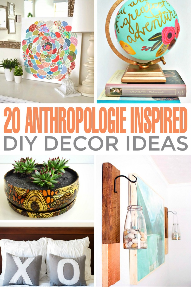 Anthropologie inspired bedroom decorating Anthropologie home decor ideas
