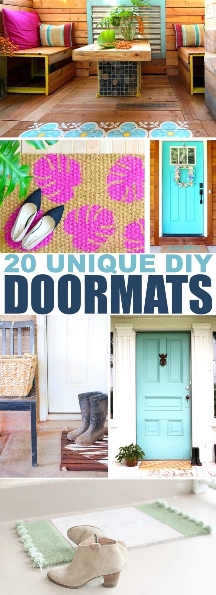 20 Unique Diy Wind Chimes: 20 Unique DIY Doormats