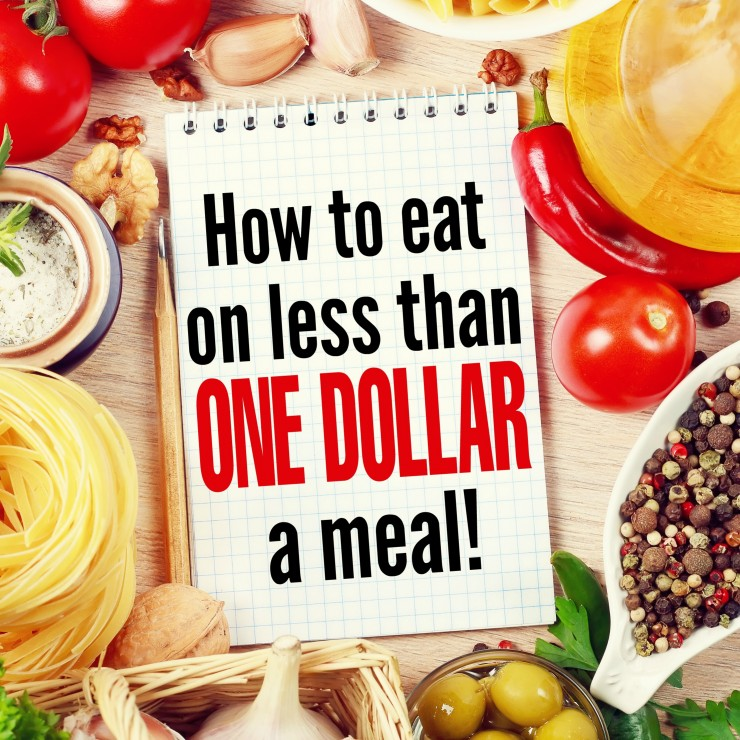 How to Eat on Less Than a Dollar a Meal