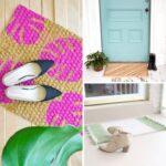 20 Unique DIY Doormats
