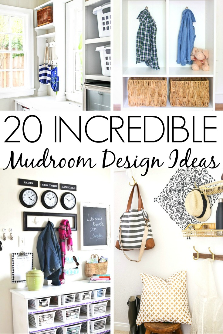 20 Incredible Mudroom Design Ideas - Frugal Mom Eh!