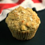 Apple Oatmeal Greek Yogurt Muffins