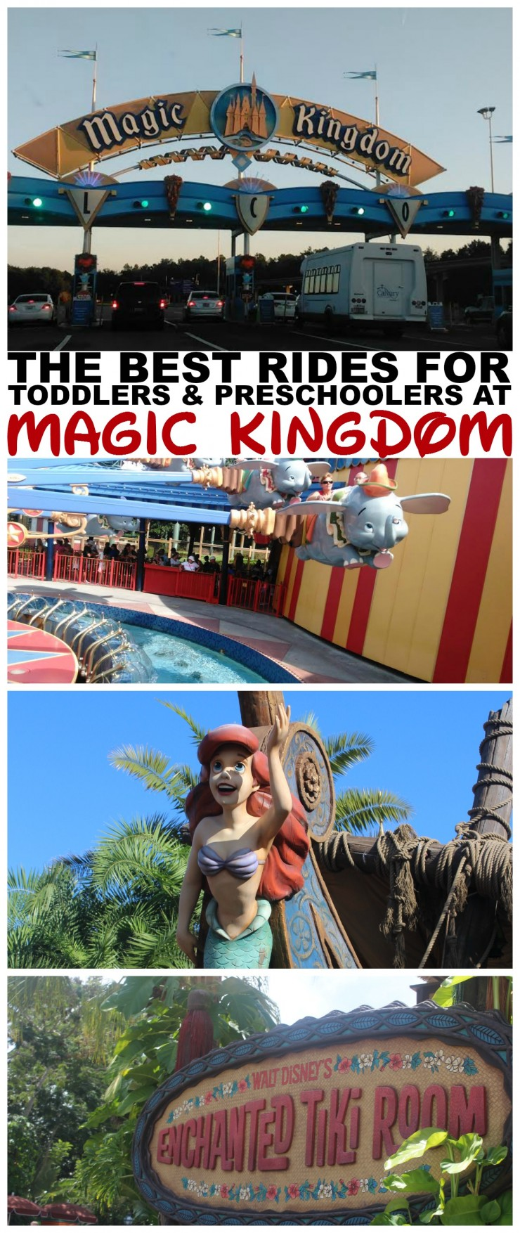 The Best Rides & Attractions for Toddlers and Preschoolers at Magic Kingdom