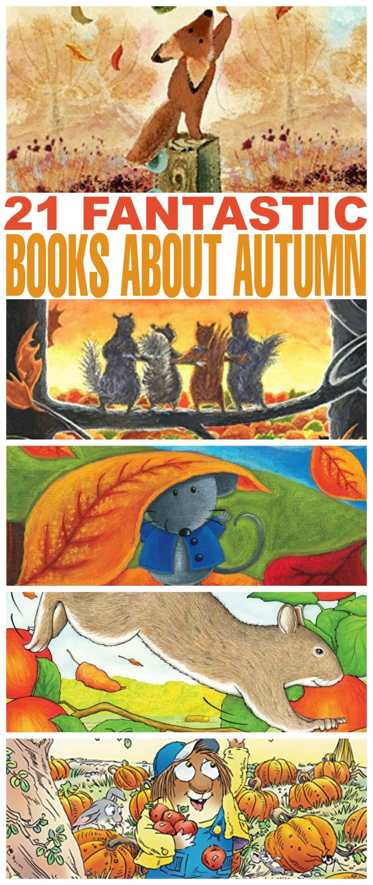 21 Fantastic Books About Autumn