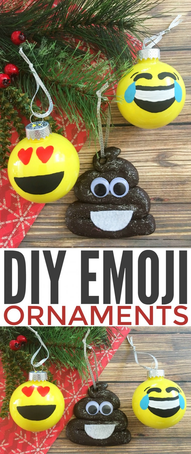 Diy Emoji Ornaments Frugal Mom Eh
