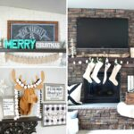 20 Christmas Mantel Decorating Ideas