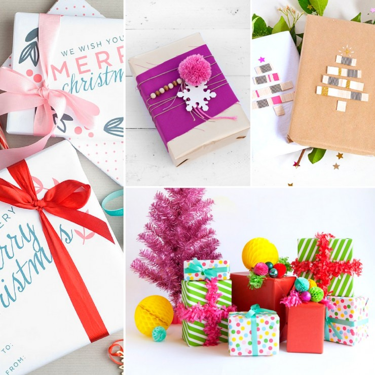 20 Easy & Beautiful Christmas Gift Wrapping Ideas