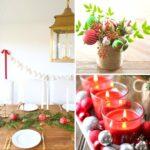 20 Beautiful DIY Festive Christmas Centerpieces