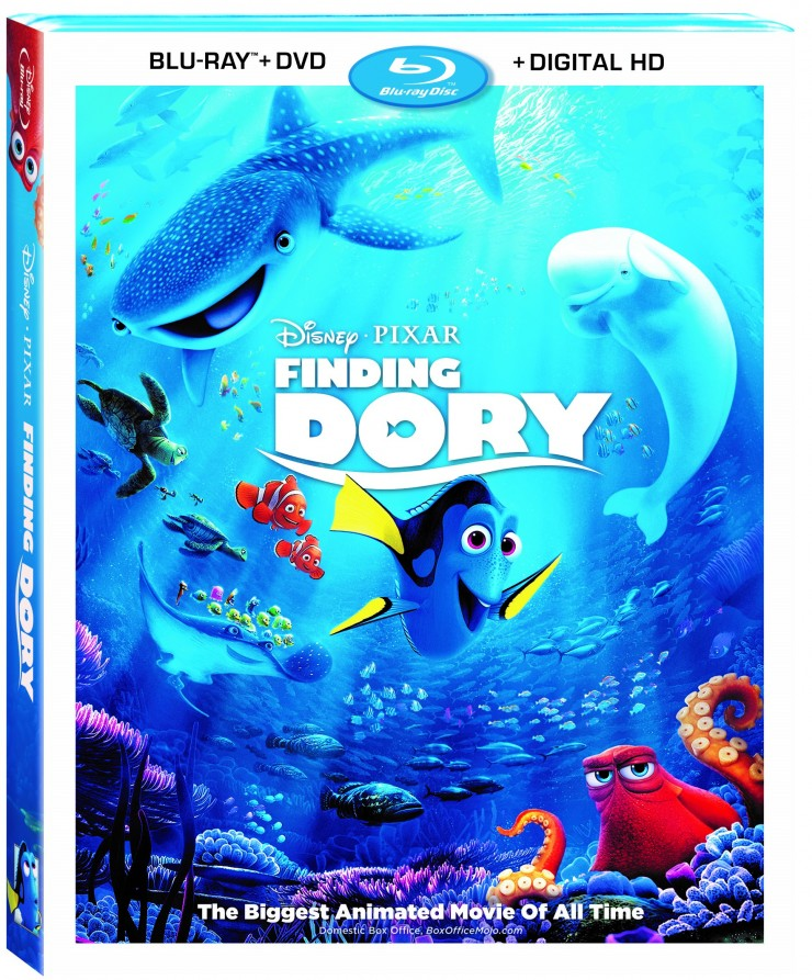 Disney Pixar's Finding Dory Blu-ray