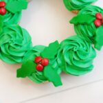 Pull-Apart Christmas Wreath Cake