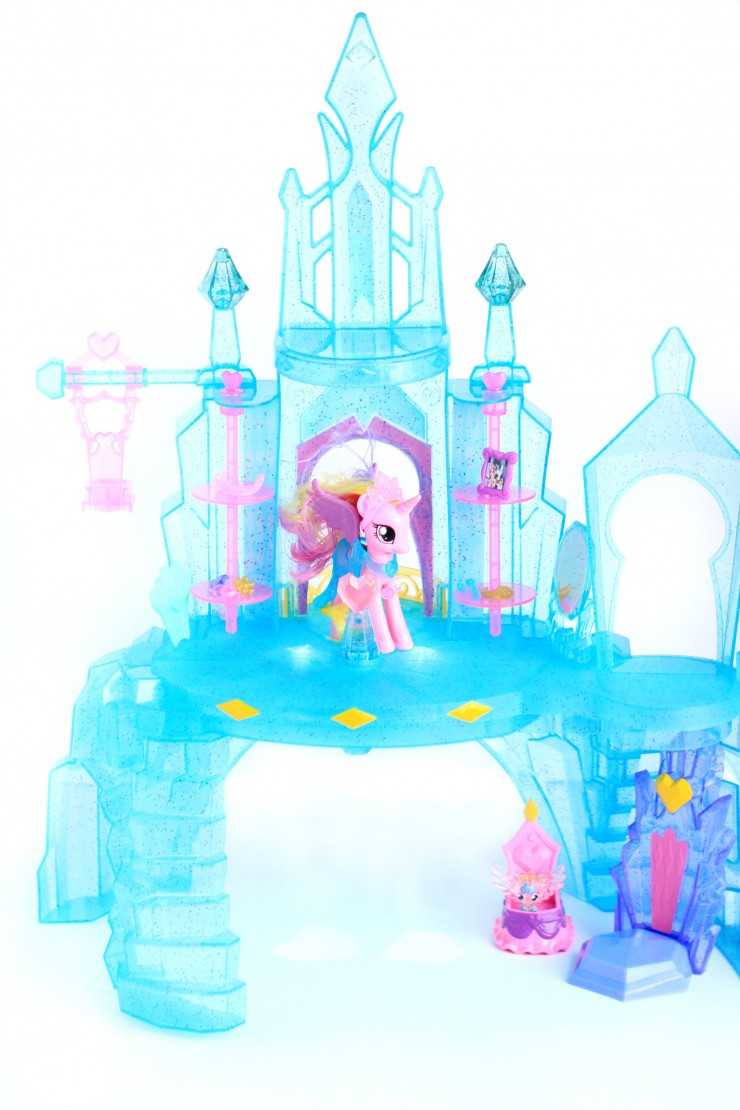 My Little Pony Explore Equestria Crystal Empire Castle Frugal Mom Eh