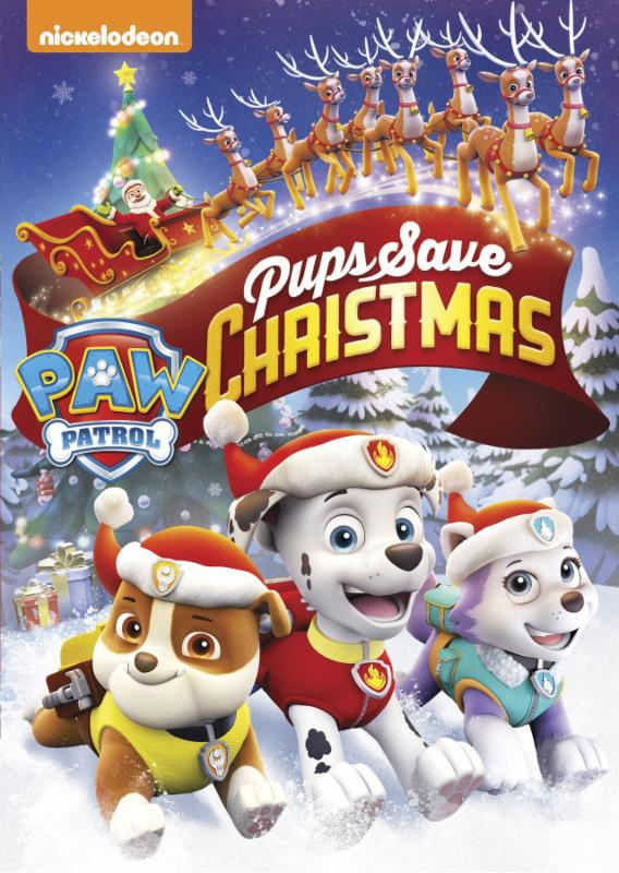 Paw Patrol: Pups Save Christmas (Limited Edition DVD with Paw Patrol Ornament)