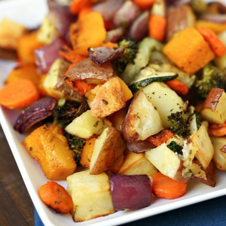 Oven-Roasted Vegetables