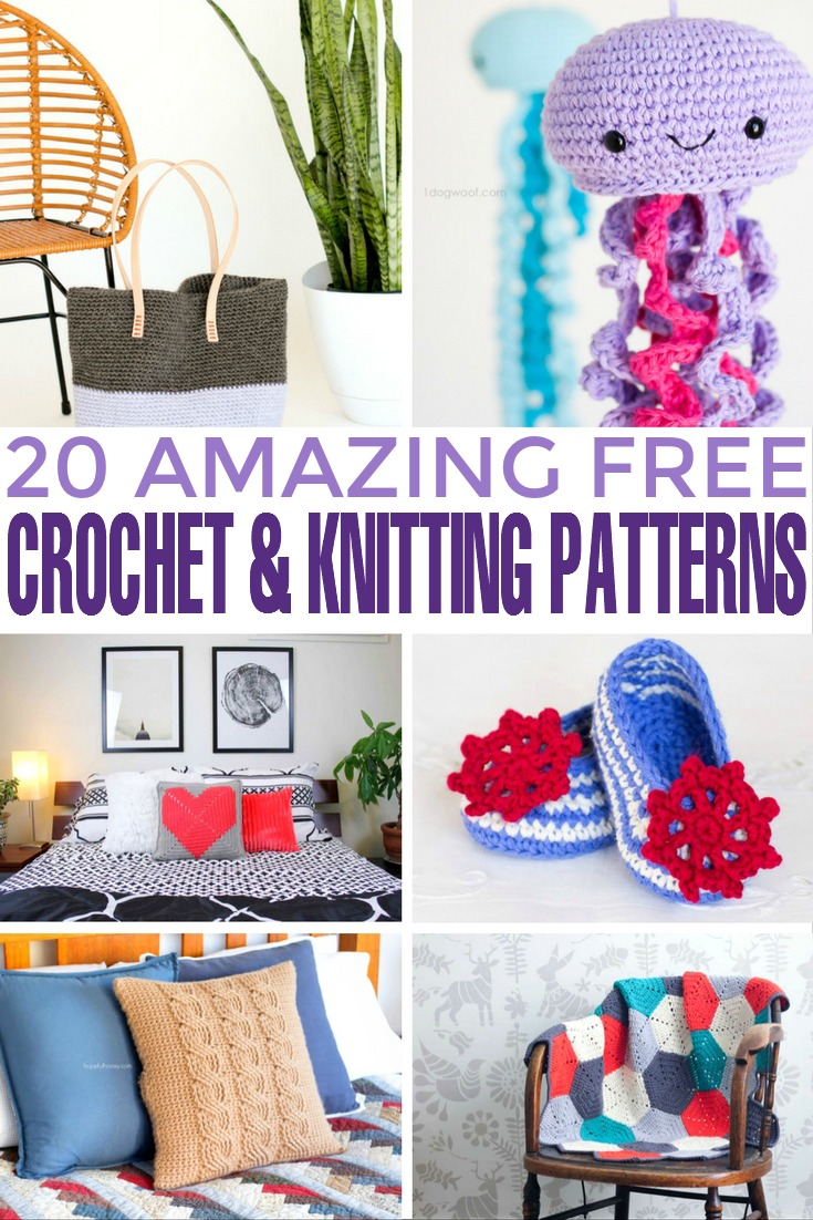 I put together a list of 20 amazing free crochet and knitting patterns you can use to create unique and personalized gifts for the most special people in your life. From adorable baby sandals and crochet pillows to baby blankets and even crochet cactuses for your home décor, you'll have enough ideas for the years to come.