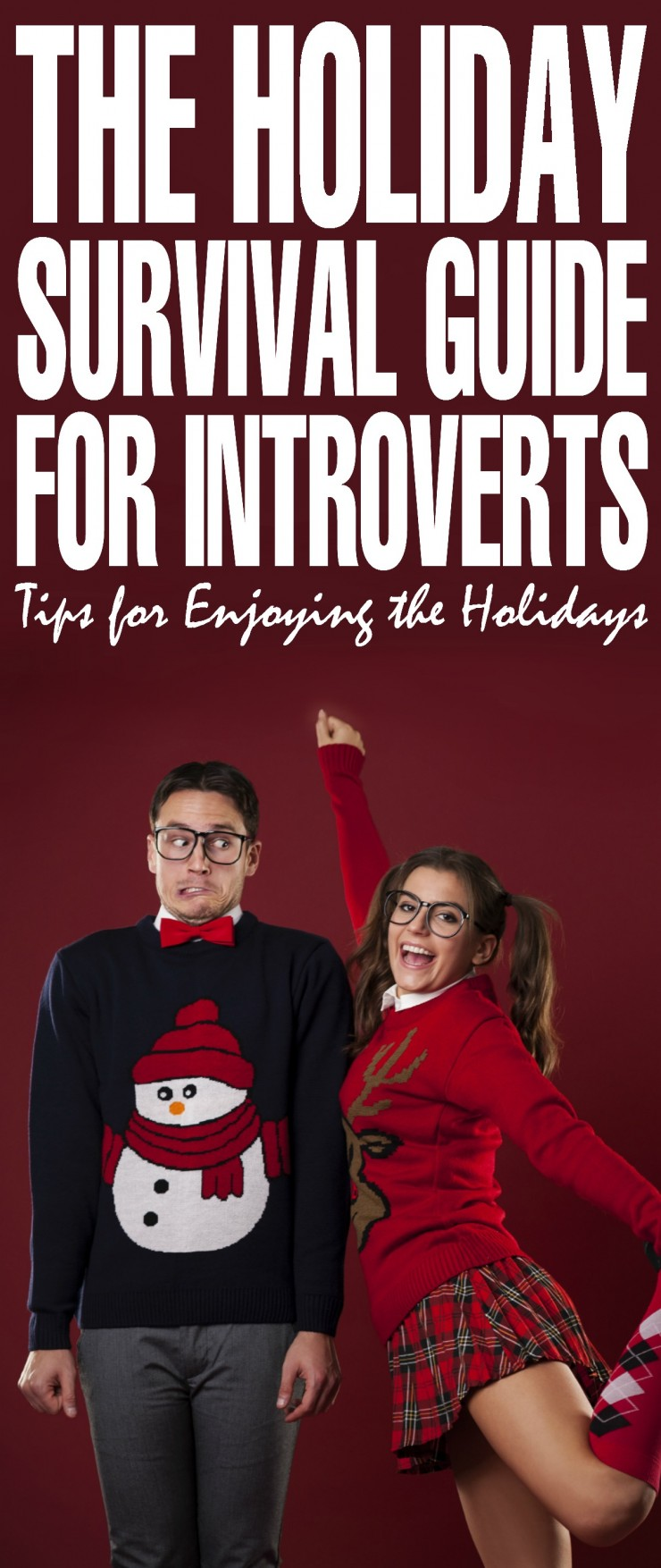 Unfortunately, if you're an introvert, the holiday season can be filled with stress due to all of the hustle and bustle. If this sounds like you this Holiday survival guide for introverts can help you survive the holiday season.
