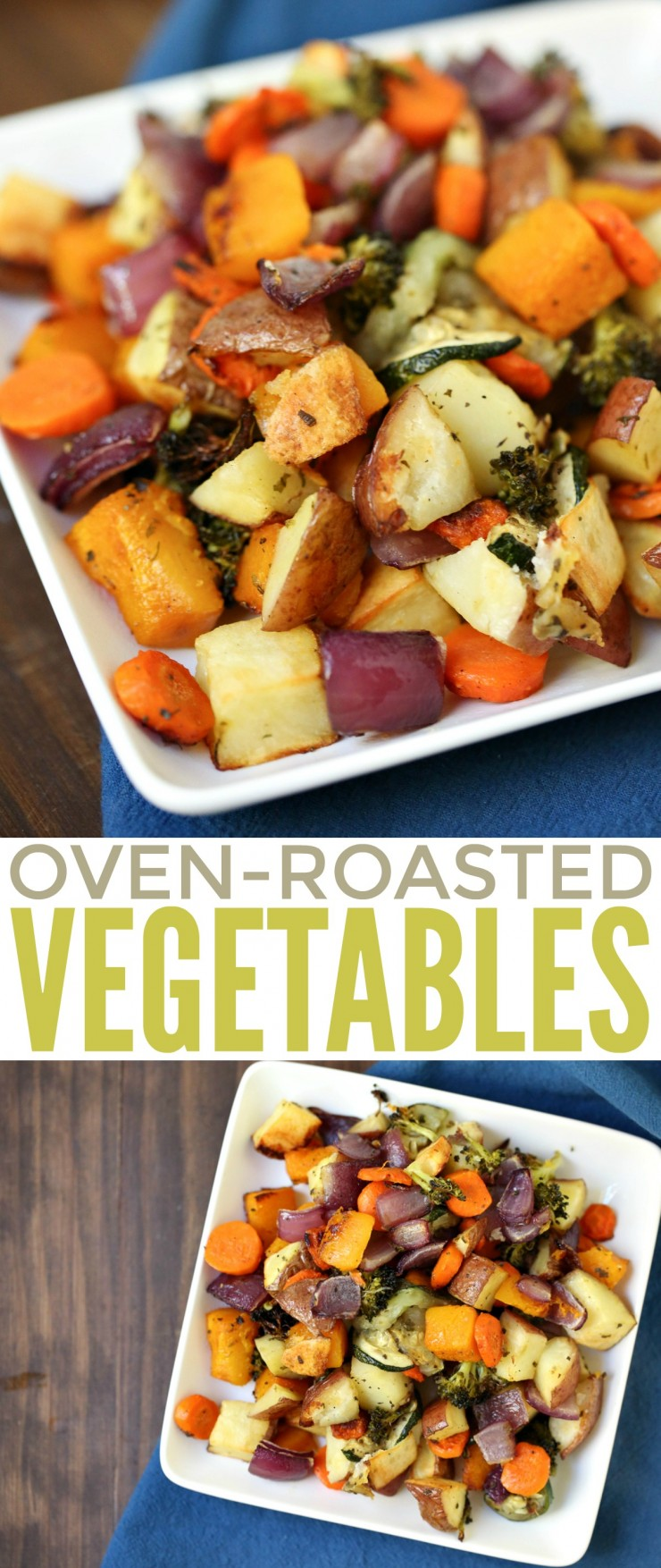 Oven-Roasted Vegetables are a delicious side dish staple your family can enjoy all year round as part of your dinner menu. It's a healthy and super delicious way to get your veg in!