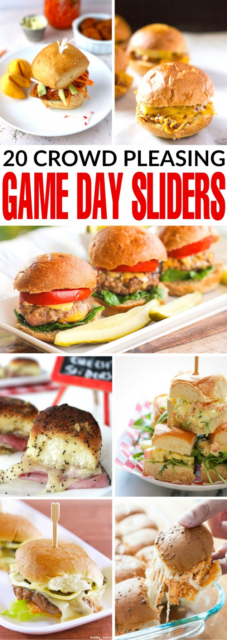 If you need a quick and easy appetizer for game day, sliders make the perfect choice. Your guests can enjoy these tasty game day sliders while keeping their eyes on the screen.