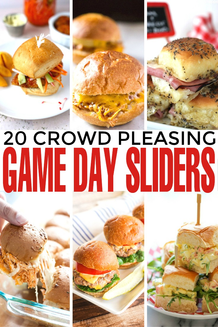20 crowd pleasing game day sliders frugal mom eh for Easy tailgating recipes for a crowd