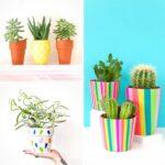 20 Creative DIY Indoor Planters You'll Love