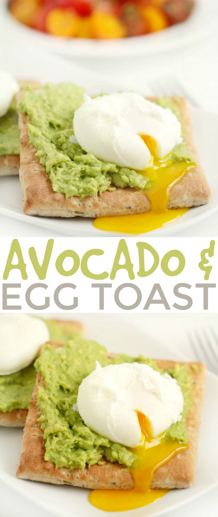 Looking for a power snack or breakfast option? Check out this unexpectedly delicious recipe for Avocado & Egg Toast - packed with whole grains and the goodness of fresh egg and avocado. This easy snack will get you through the day!