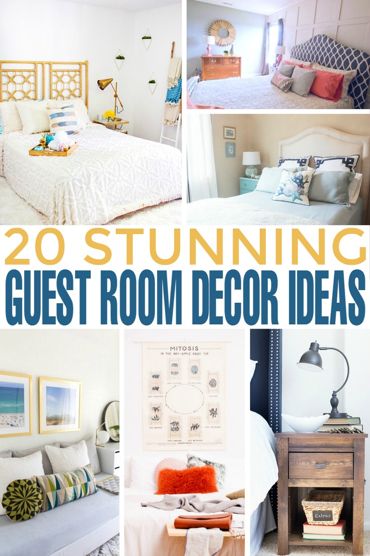 20 stunning guest room decor ideas frugal mom eh for Lounge decor ideas pictures