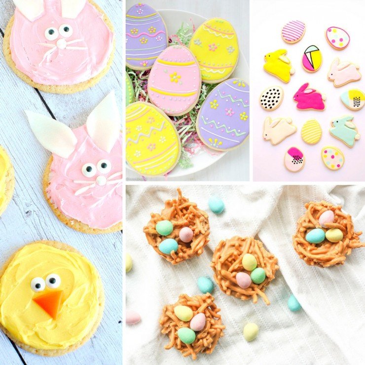 20 Cute & Delicious Easter Cookie Recipes